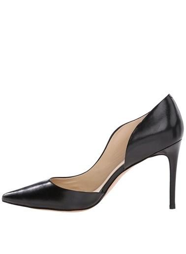 Nine West Hakiki Deri Klasik Topuklu Ayakkabı Siyah